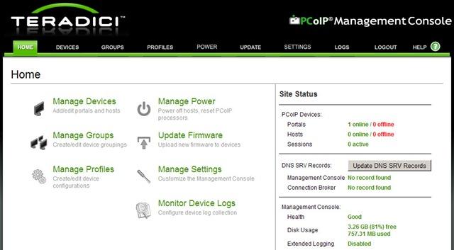 Teradici PCoIP Management Console – myvirtualcloud net