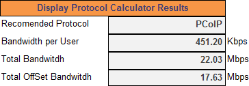 VDI Display Protocol Calculator v1 1 w/ New Features